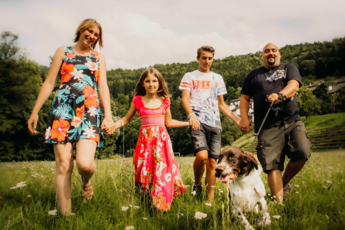 Familienfotoshooting, Fotoshooting Familie