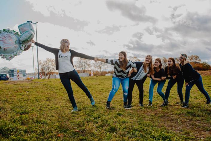 Mädels-Fotoshooting
